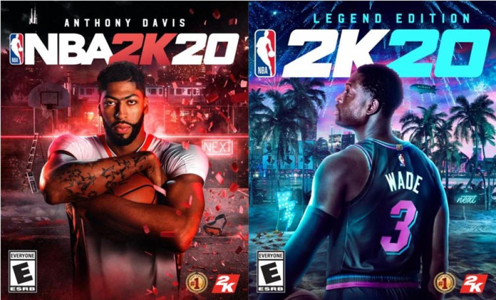 NBA 2K20: Έρχεται στις 6 Σεπτεμβρίου, με Anthony Davis και Dwayne Wade στα εξώφυλλα [Video]