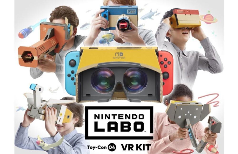 Nintendo Labo: VR kit, τι καινούργιο φέρνει το νέο DIY kit του Nintendo Switch