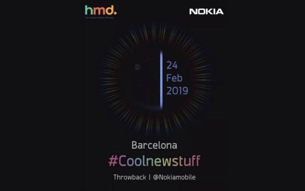 Teasers της HMD Global επιβεβαιώνουν το Nokia 9 PureView με πενταπλή κάμερα για το MWC 2019