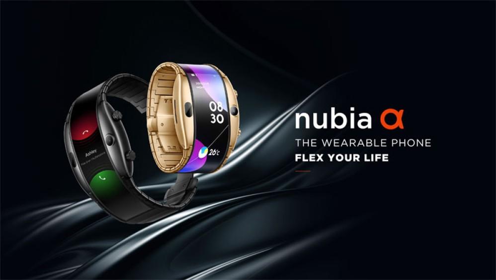 Nubia Alpha: Ένα βραχιόλι - smartphone με εύκαμπτη οθόνη 4'' OLED