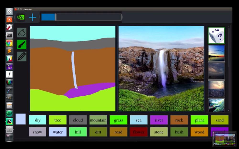 Nvidia GauGAN: Το AI λογισμικό που μετατρέπει απλοϊκά σχέδια σε φωτορεαλιστικά γραφικά