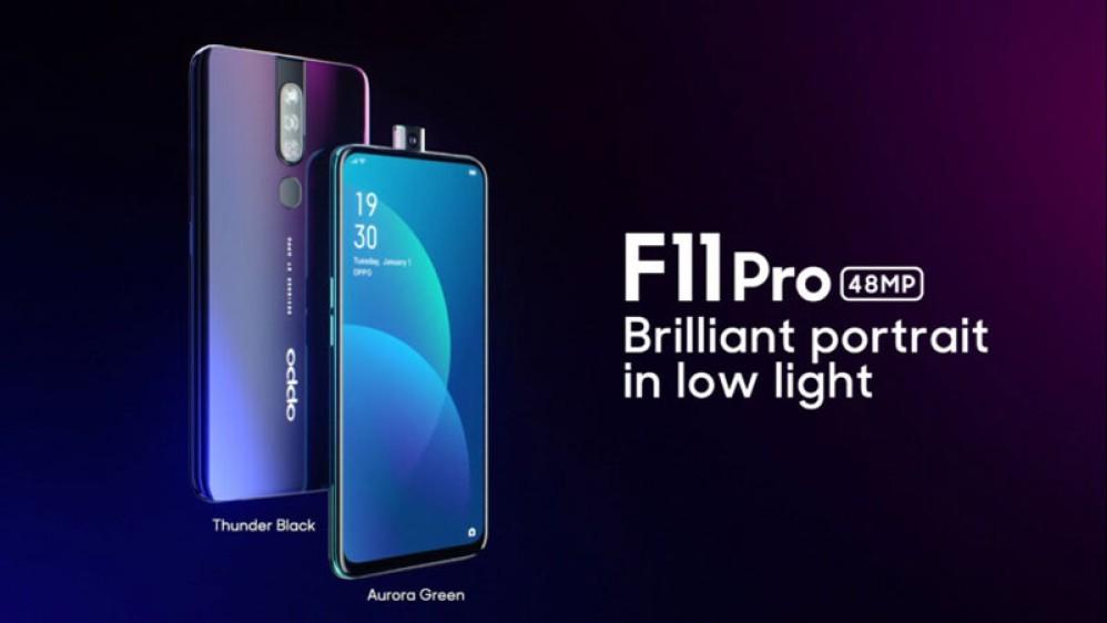 Oppo F11 / F11 Pro: Επίσημα το ένα με notch-σταγόνα, το άλλο με pop-up κάμερα