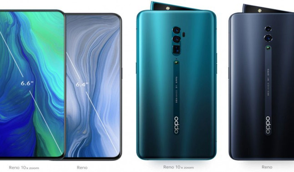 Oppo Reno: Στα €499 η βασική έκδοση, €799 με 10x zoom και €899 με 5G