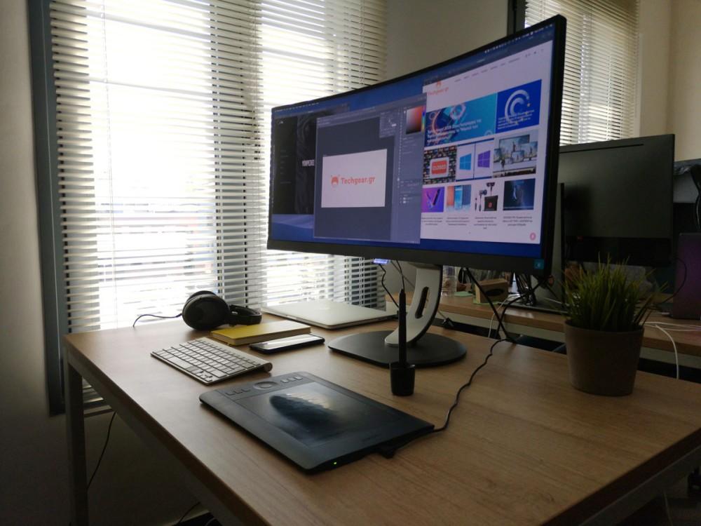 Philips 349P7FUBEB: Μια UltraWide κυρτή οθόνη 34'' για τον επαγγελματία που θέλει και το gaming