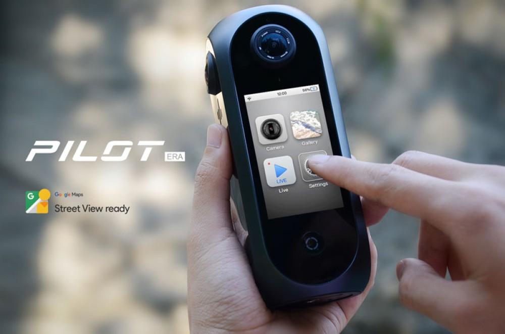 Pilot Era: Η πρώτη all-in-one 8K 360º VR camera με νέα έκπτωση στο Indiegogo