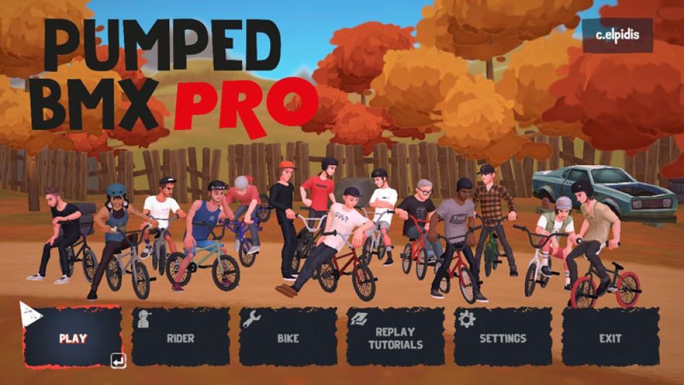Pumped BMX Pro: Ένα παιχνίδι τύπου Trials με ποδήλατα για...υπομονετικούς