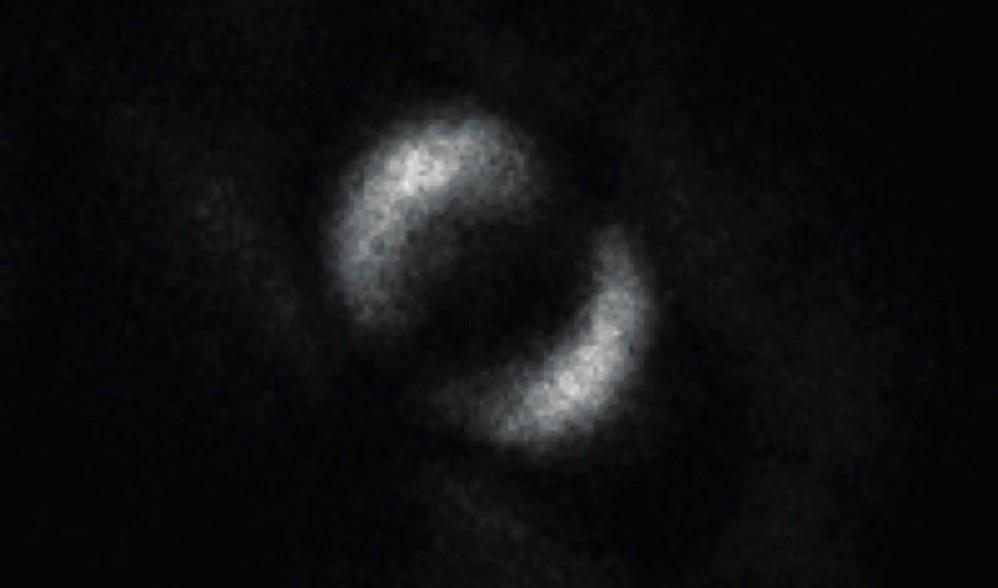 Αυτή είναι η πρώτη φωτογραφία που απεικονίζει την κβαντική σύζευξη δύο φωτονίων!