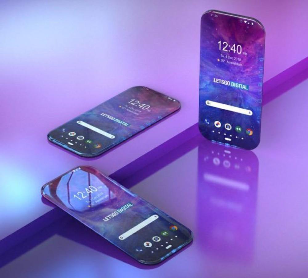 Φουτουριστική πατέντα της Samsung για εντελώς bezel-less smartphone