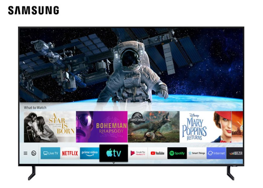 Apple TV και AirPlay 2 διαθέσιμα στις Samsung Smart TVs
