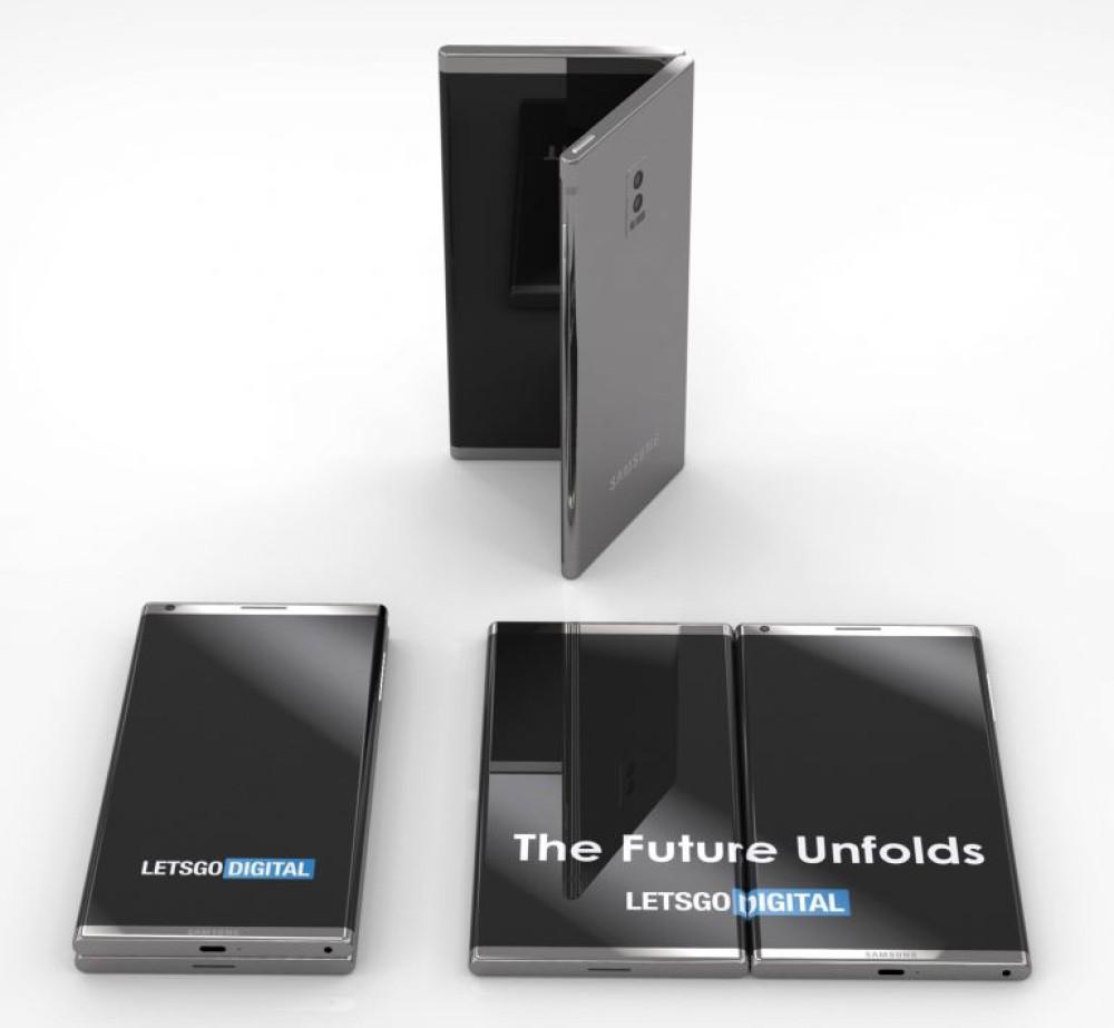 Νέο concept βασισμένο σε πατέντα της Samsung για αναδιπλώμενο smartphone με δύο οθόνες