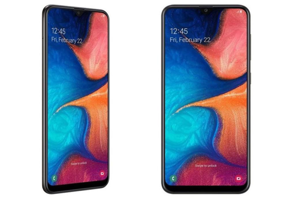 Samsung Galaxy A20: Επίσημα με οθόνη 6.4'' HD+ Super AMOLED και μπαταρία 4000mAh