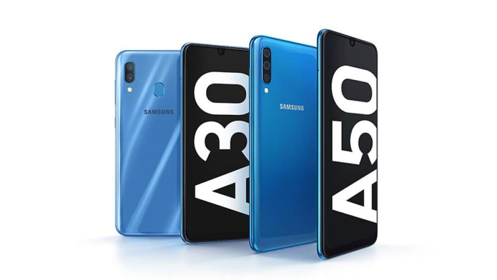 Samsung Galaxy A30/A50: Επίσημα με οθόνες Infinity-U AMOLED και μεγάλες μπαταρίες
