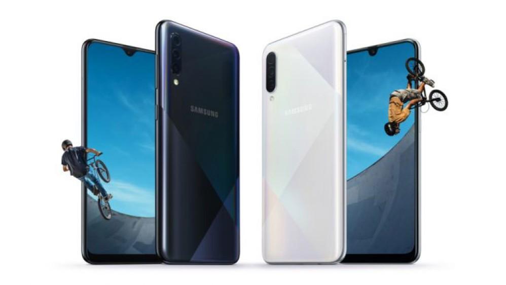 Samsung Galaxy A30s/A50s: Επίσημα με οθόνες Super AMOLED, τριπλές κάμερες, in-display αισθητήρα και μπαταρία 4000mAh