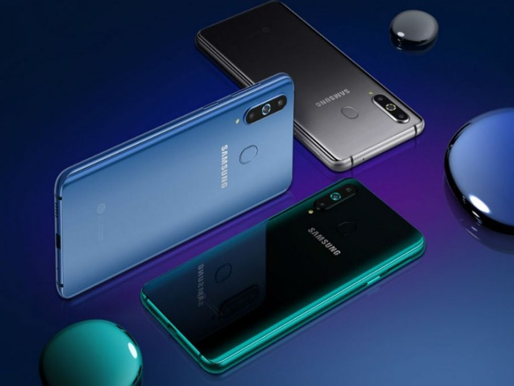 Samsung Galaxy A8s: Επίσημα το πρώτο στον κόσμο με οπή στην οθόνη και τριπλή καμερα