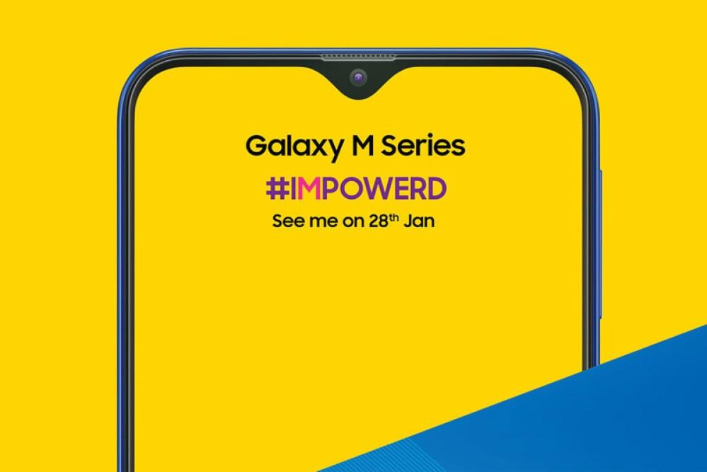 Samsung Galaxy M: Επίσημη επιβεβαίωση για τη νέα σειρά, παρουσιάζεται στις 28 Ιανουαρίου