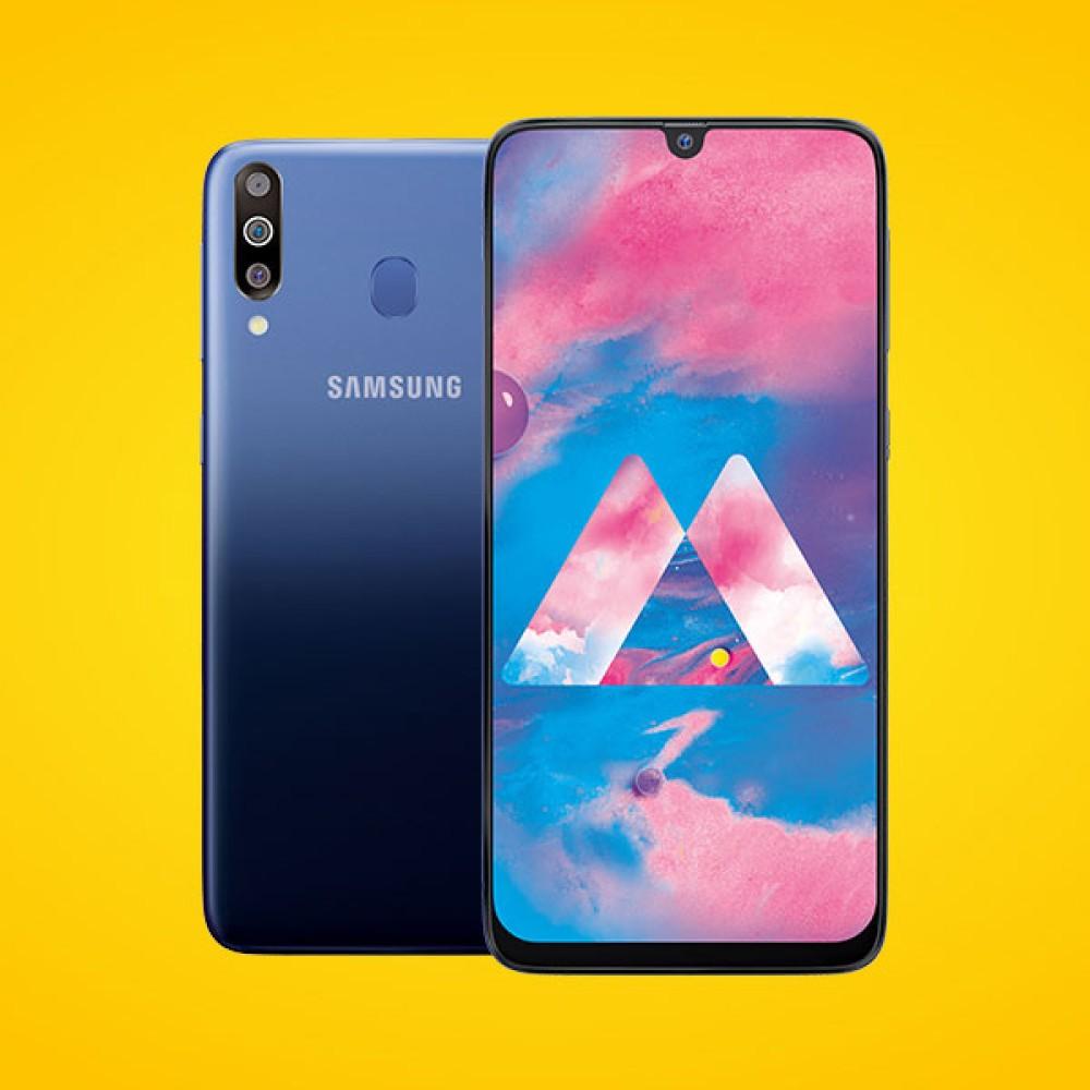 Samsung Galaxy M30: Επίσημα με οθόνη 6.4'' Super AMOLED Infinity-U, τριπλή κάμερα και μπαταρία 5000mAh
