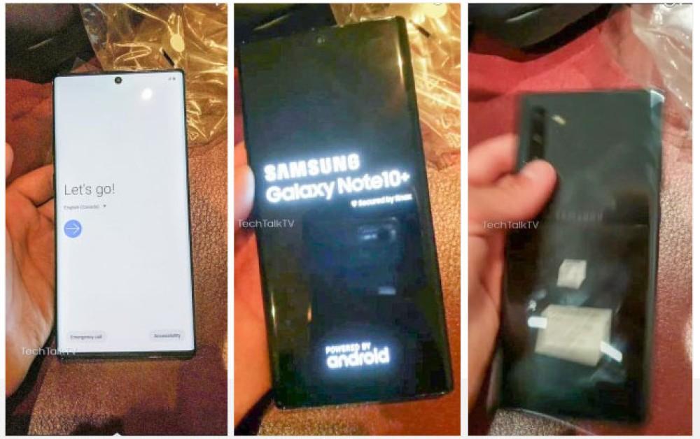 Samsung Galaxy Note 10+: Πρώτες πραγματικές φωτογραφίες της συσκευής