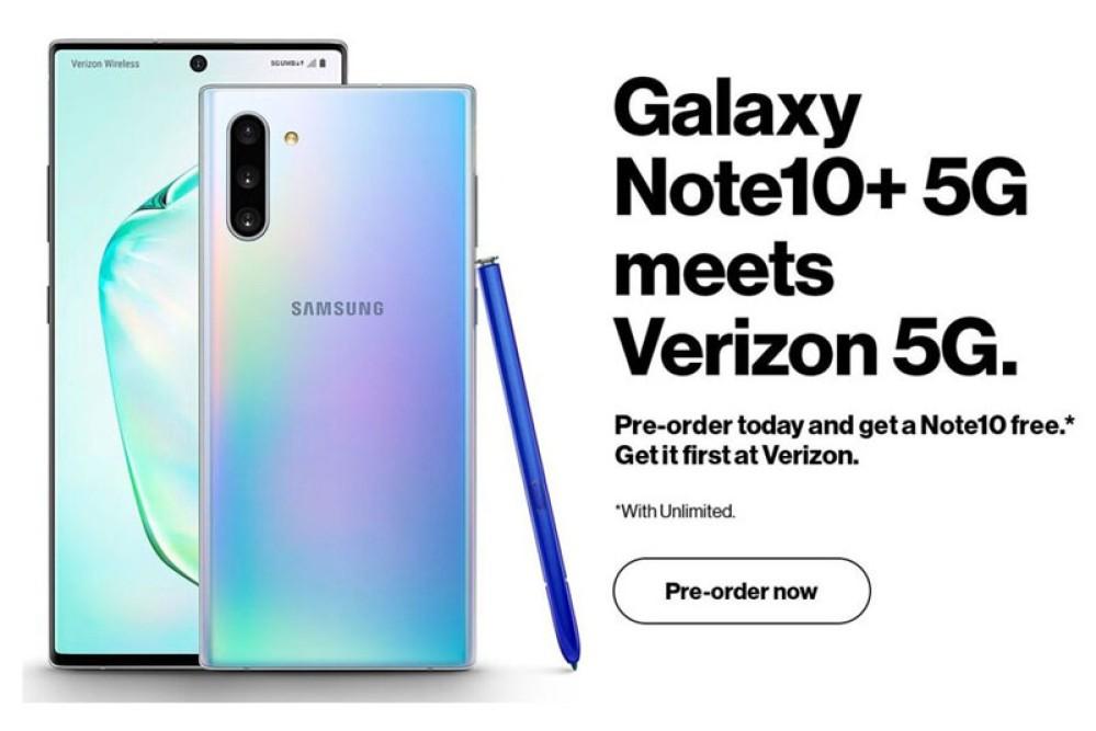 Samsung Galaxy Note10+ 5G: Επιβεβαίωση για τη 5G έκδοση από τη Verizon