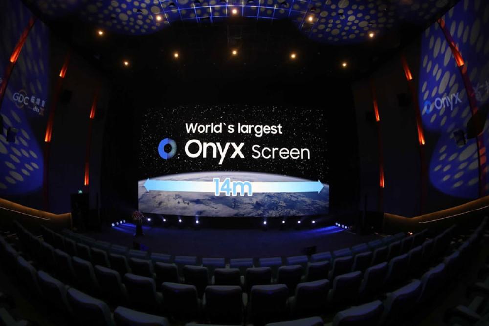 Η Samsung αποκάλυψε τη μεγαλύτερη Onyx Cinema LED οθόνη στον κόσμο