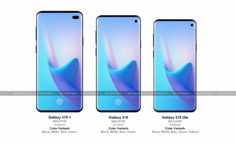 Samsung Galaxy S10: Αποκαλύψεις για μνήμες, κάμερες και διαθέσιμα χρώματα!
