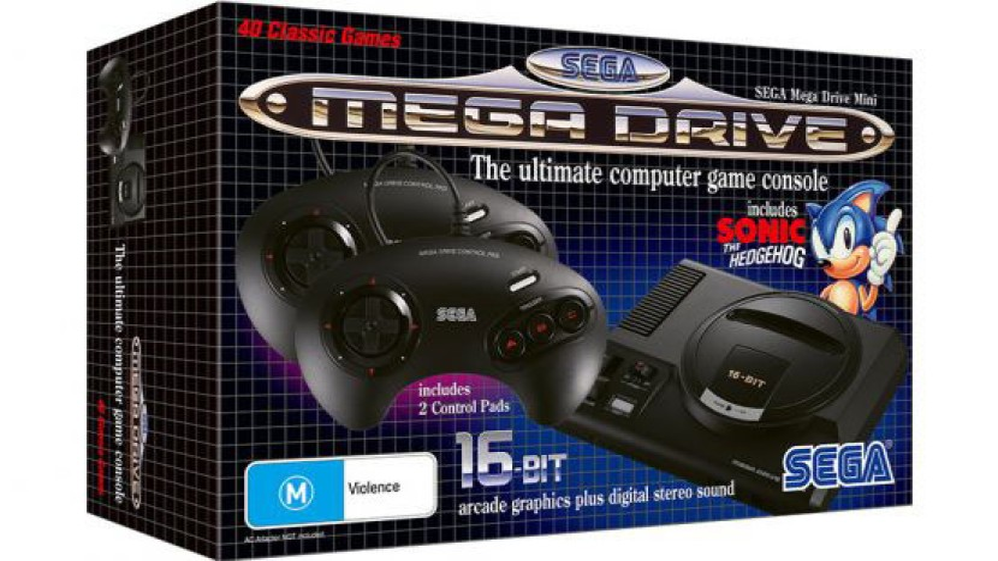 SEGA Mega Drive Mini: Έρχεται στις 19 Σεπτεμβρίου στην Ευρώπη στα €79.99