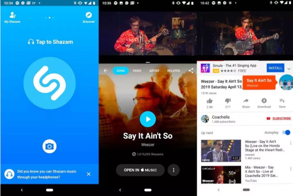 Shazam: Πλέον αναγνωρίζει τι ακούς στο smartphone όταν φοράς ακουστικά!