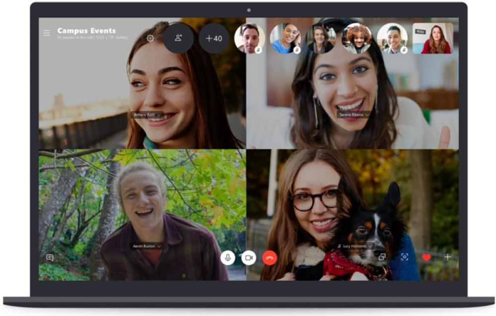 Skype: Διαθέσιμη για όλους η ομαδική video κλήση έως 50 άτομα