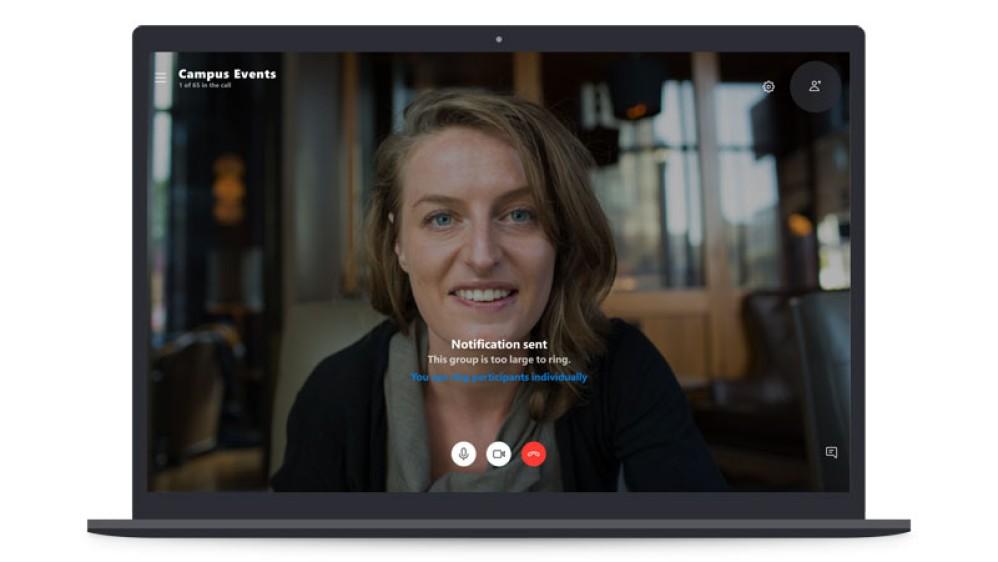 Skype: Δοκιμές για video κλήσεις με 50 συμμετέχοντες