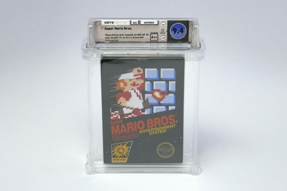 Σφραγισμένο αντίτυπο του Super Mario Bros. πωλήθηκε έναντι $100150!