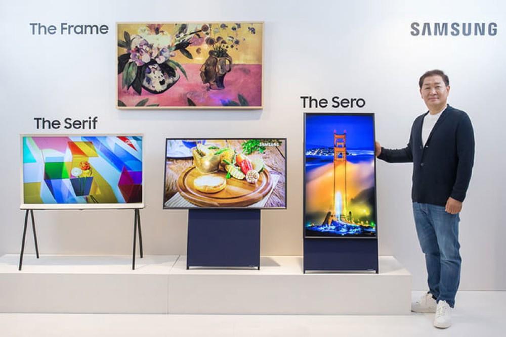 The Sero: Μια κάθετη τηλεόραση από τη Samsung για τους millennials!