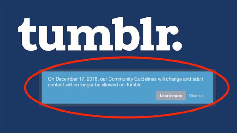 Tumblr: Τέλος στην πορνογραφία από τη δημοφιλή πλατφόρμα