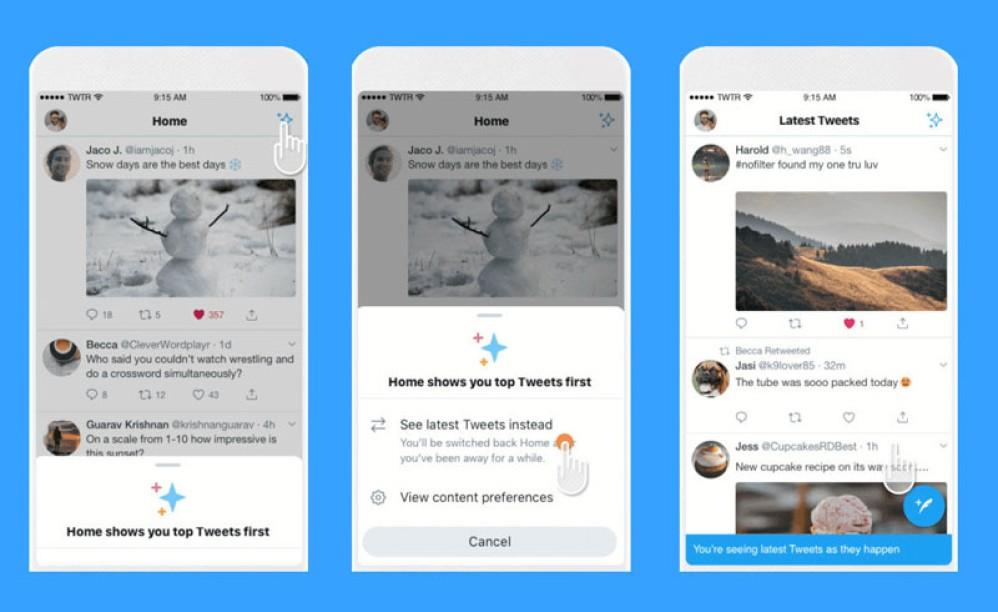 Twitter: Επανέφερε τη χρονολογική σειρά εμφάνισης των tweets στο iOS, σύντομα και στο Android OS