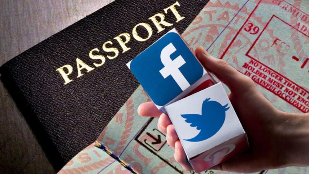 Η έκδοση visa για τις ΗΠΑ θα απαιτεί αποκάλυψη των λογαριασμών σου στα social media