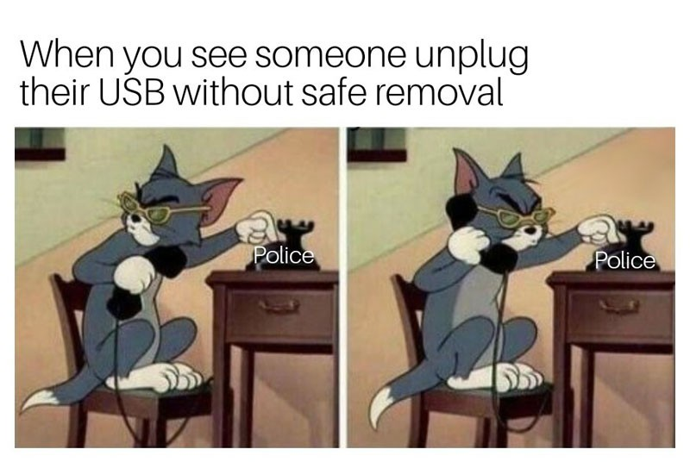 """Τέλος στην """"ασφαλή κατάργηση"""" των USB Flash Drives με την έκδοση Windows 10 version 1809"""