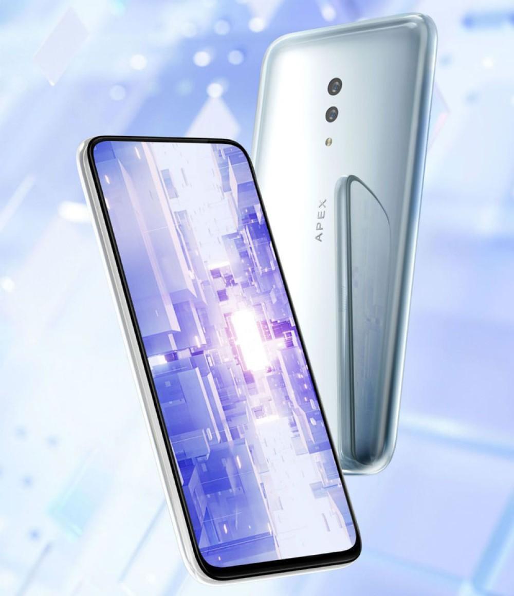 Vivo APEX 2019: Το smartphone χωρίς κουμπιά και οπές σε επίδειξη στο Χονγκ Κονγκ
