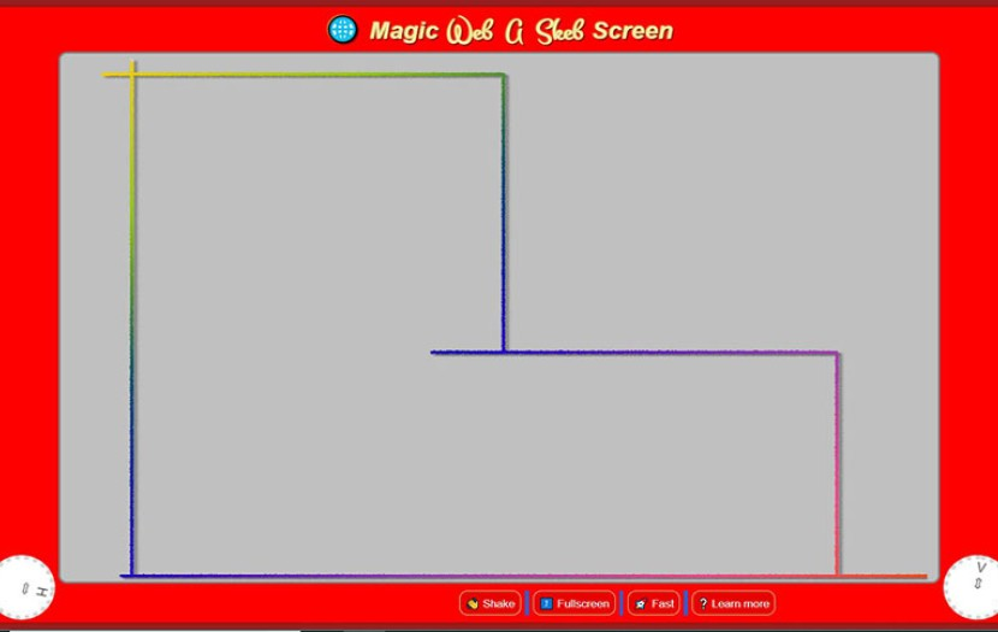 Web-A-Sketch: Το νέο πείραμα του Google Chrome θα σας θυμίσει τα παιδικά σας χρόνια