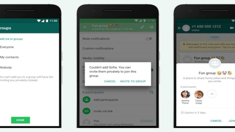 WhatsApp: Μπορείς πλέον να ελέγχεις ποιος μπορεί να σε προσθέσει σε κάποιο group