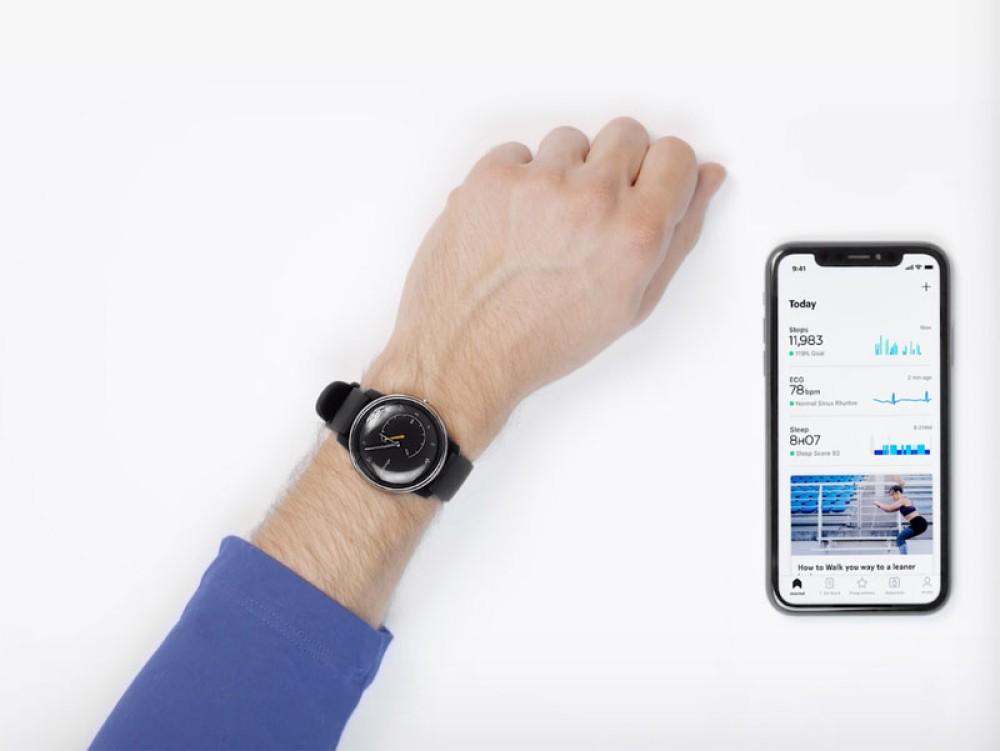 Withings Move ECG: Ένα αναλογικό ρολόι που σου κάνει ηλεκτροκαρδιογράφημα