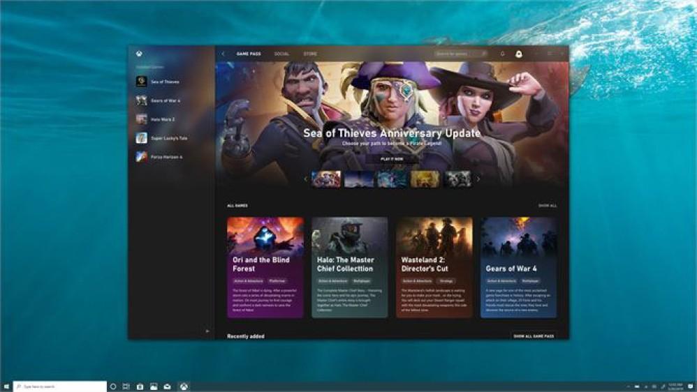 Η νέα εφαρμογή Xbox για Windows συνδυάζει Game Pass, Windows Store και social στοιχεία