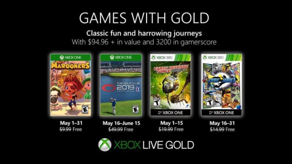 Xbox Games with Gold: Αυτά είναι τα δωρεάν games για το Μάιο