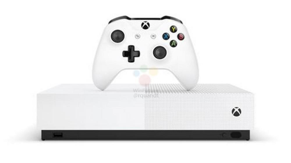 Xbox One S All Digital: Αποκαλυπτήρια στις 16 Απριλίου, κυκλοφορία 7 Μαΐου στα €229.99;