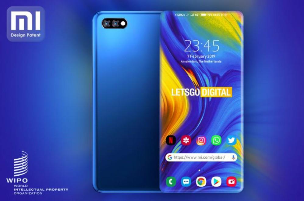 Xiaomi: Κατοχύρωσε πατέντα για smartphone με 4-edge οθόνη
