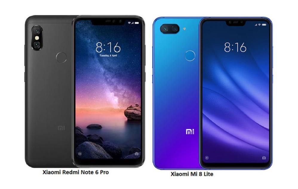 Xiaomi Redmi Note 6 Pro και Mi 8 Lite σε πολύ καλές τιμές από Ευρώπη