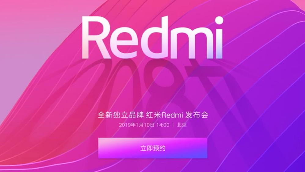 Το Redmi της Xiaomi γίνεται ανεξάρτητο brand και έρχεται το πρώτο smartphone με κάμερα 48MP