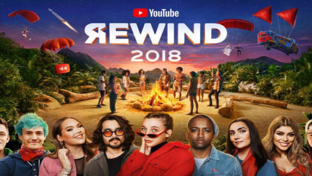 YouTube ReWind 2018: Θα γίνει σύντομα το πιο disliked video όλων των εποχών!