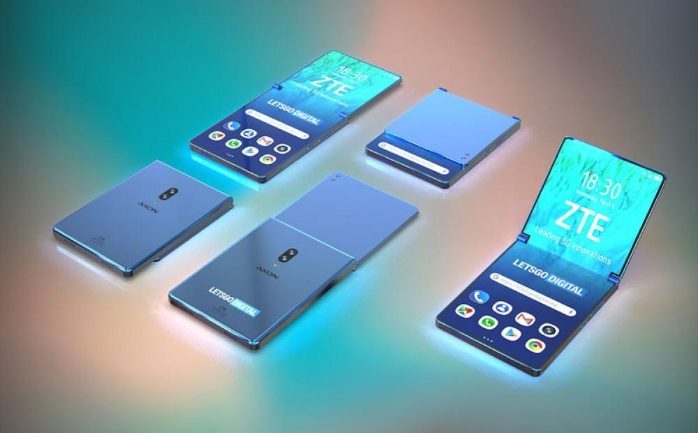 Ενδιαφέρον concept για αναδιπλούμενο smartphone από τη ZTE σε μορφή clamshell