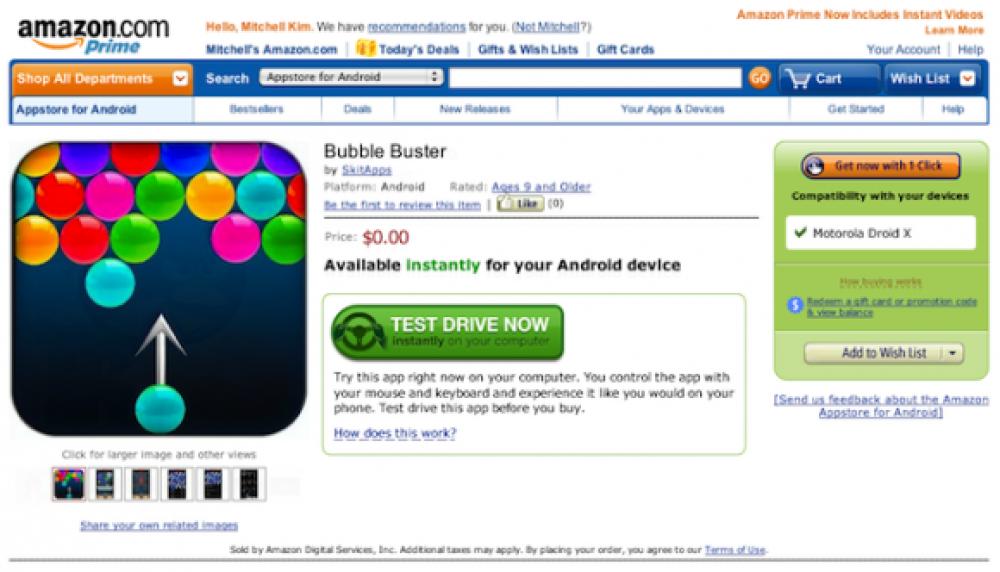 Amazon Android AppStore: Εγκαίνια με μήνυση από την Apple