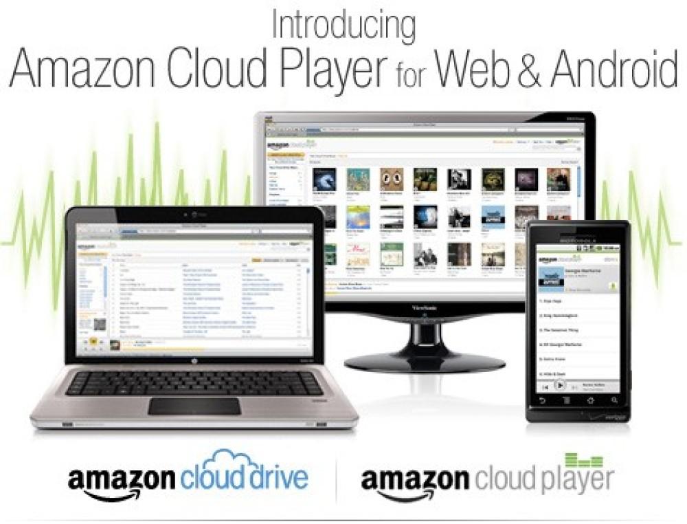 Amazon Cloud Player και Cloud Drive, απάντηση στο iTunes και το γάντι στη Google!