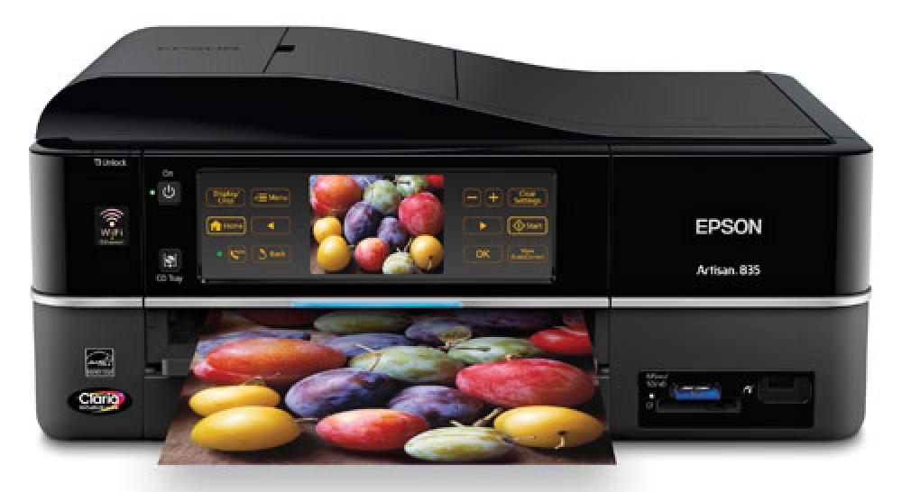 Epson Artisan 835/725 AiO printers