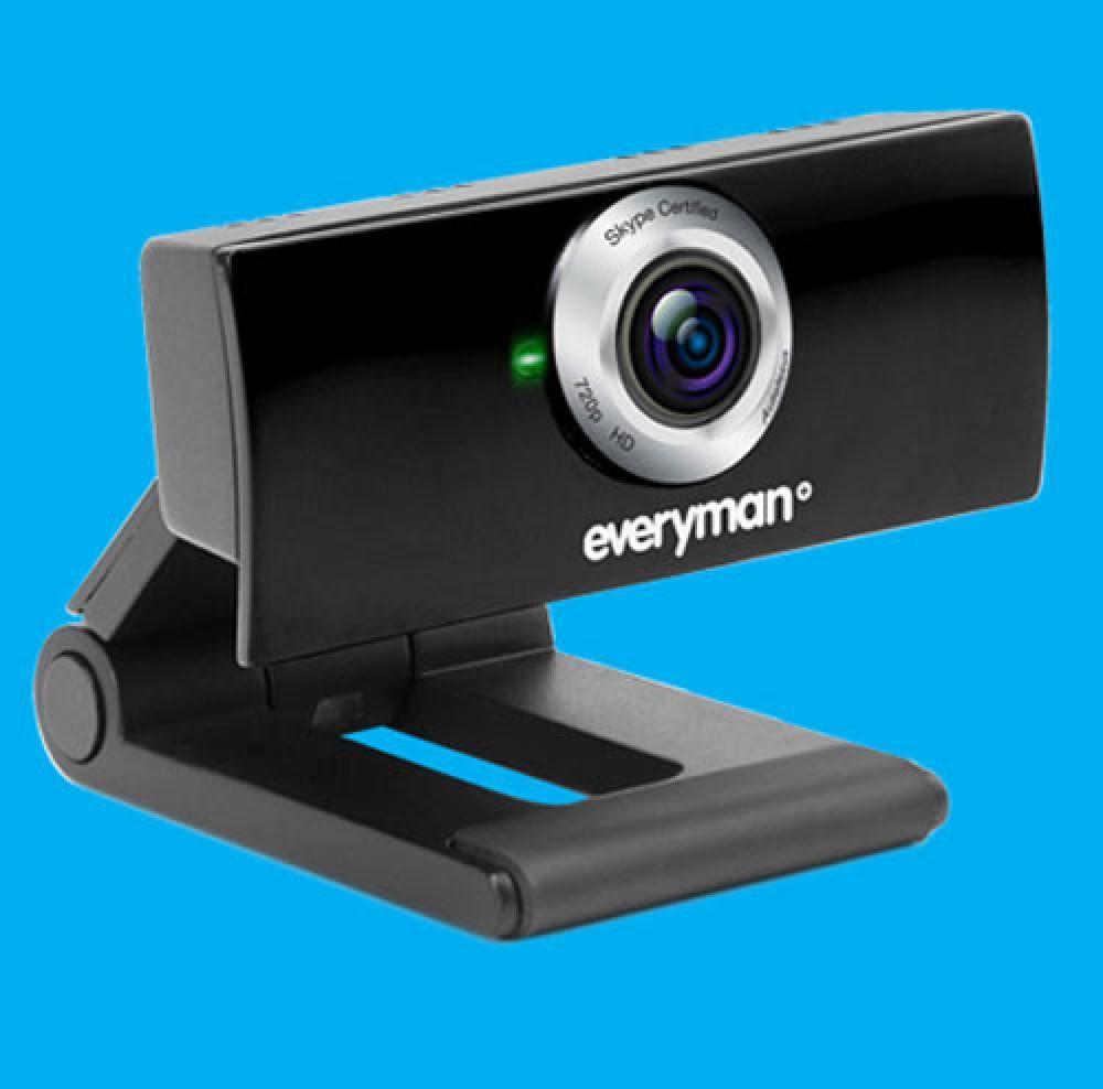 FREEMAN Everyman HD Webcam For Skype Users